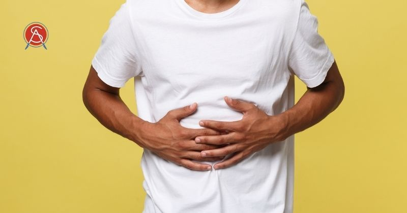Man with difficult to treat GERD considers surgical options available at Surgical Association of Mobile for reflux including LINX and Fundoplication